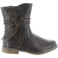 Zapatos Niña Botas urbanas Xti 54055 Marrón