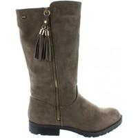 Zapatos Niña Botas urbanas Xti 53805 Beige
