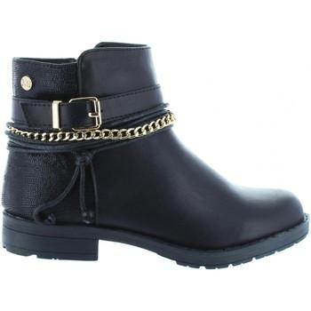 Zapatos Niña Botines Xti 53827 Negro