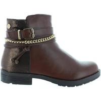 Zapatos Niña Botines Xti 53827 Marr?n