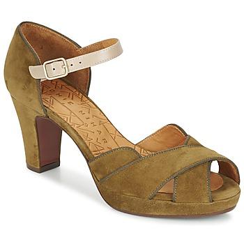 Zapatos Mujer Sandalias Chie Mihara ISY Kaki
