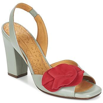 Zapatos Mujer Sandalias Chie Mihara ANAMI Gris / Rojo