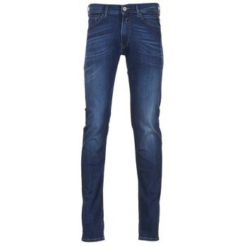 textil Hombre Vaqueros slim Replay JONDRILL Azul / Medium