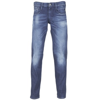 textil Hombre vaqueros slim Replay AMBASS Azul / Medium