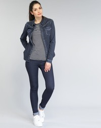 textil Mujer Vaqueros slim Replay TOUCH Azul / Oscuro