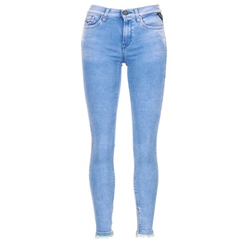 textil Mujer Vaqueros ¾ & 7/8 Replay JOI Azul / Medium