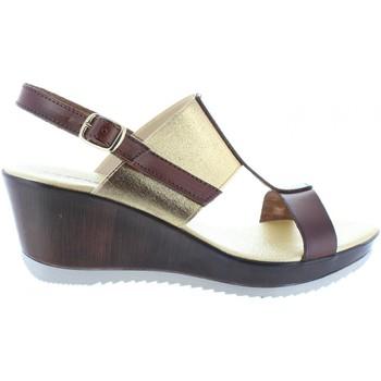 Zapatos Mujer Sandalias Cumbia 30133 Marr?n