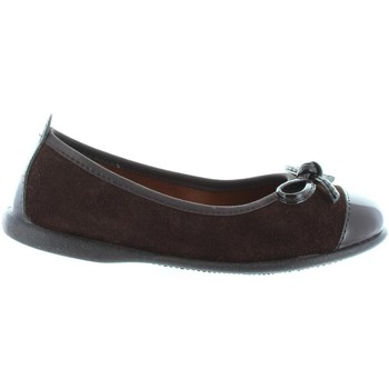 Zapatos Niña Bailarinas-manoletinas Garatti AN0086 Marr?n