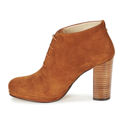 Zapatos Panay Mujer Botines Betty London Camel dBCoex