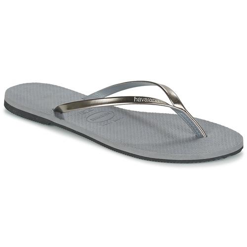 Havaianas YOU METALLIC Gris - Envío gratis | ! - Zapatos Chanclas Mujer