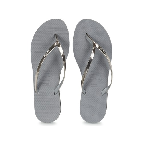 Mujer Chanclas Gris Zapatos You Havaianas Metallic EHYD92IW