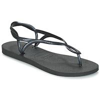 Zapatos Mujer Chanclas Havaianas LUNA Negro