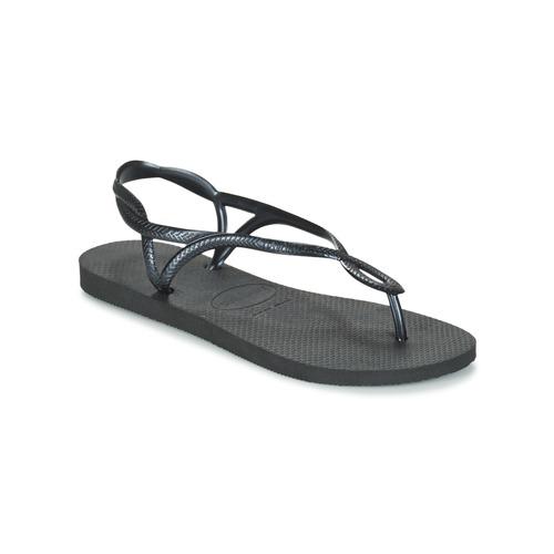 Havaianas LUNA Negro - Envío gratis | ! - Zapatos Chanclas Mujer