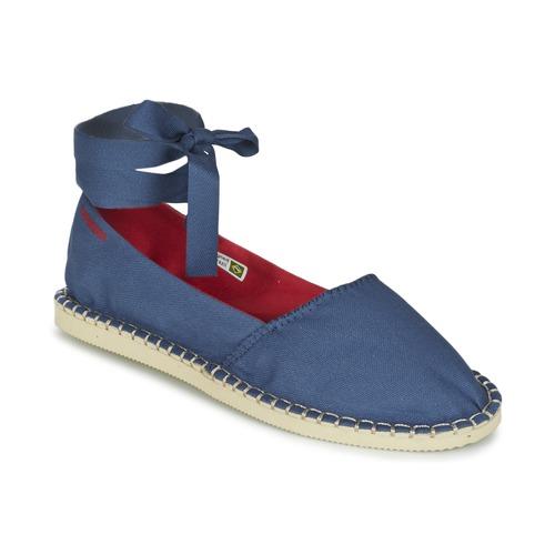 Zapatos Mujer Alpargatas Havaianas ORIGINE SLIM Azul