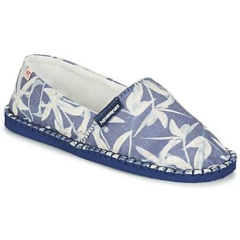 Zapatos Alpargatas Havaianas ORIGINE ORQUIDEAS Marino / Blanco
