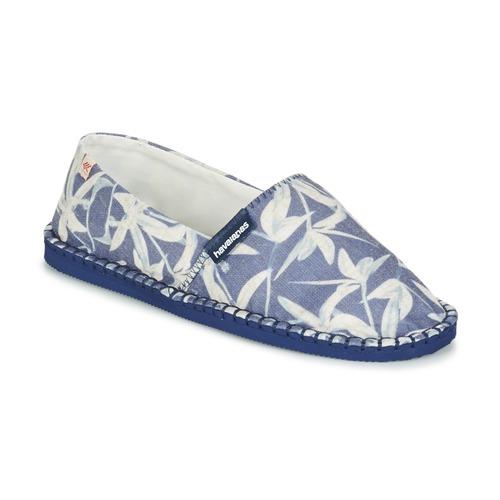 Havaianas ORIGINE ORQUIDEAS Marino / Blanco - Envío gratis | ! - Zapatos Alpargatas