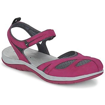 Zapatos Mujer Sandalias Merrell SIREN WRAP Q2 Rosa