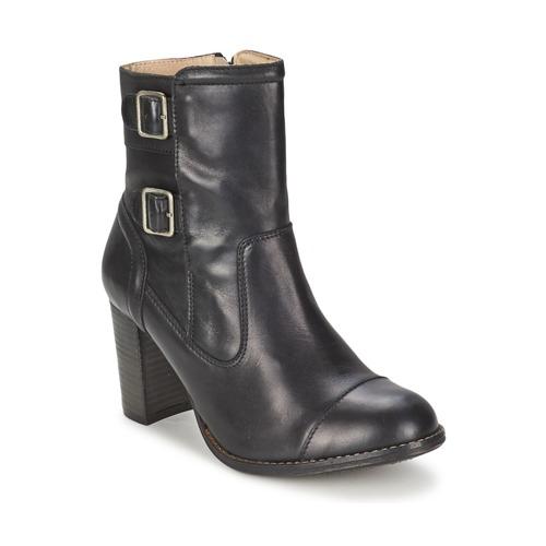 Zapatos Mujer Botines Kickers MEDIX Negro