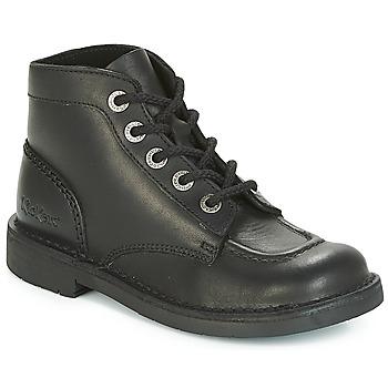 Zapatos Mujer Botas de caña baja Kickers KICK COL PERM Negro