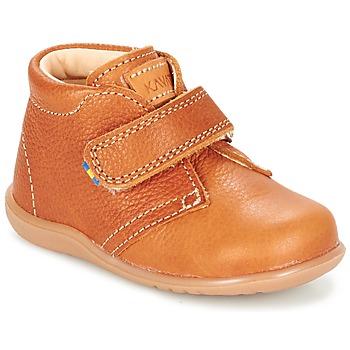Zapatos Niños Botas de caña baja Kavat HAMMAR Marrón