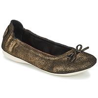 Zapatos Mujer Bailarinas-manoletinas PLDM by Palladium MOMBASA Oro / Negro