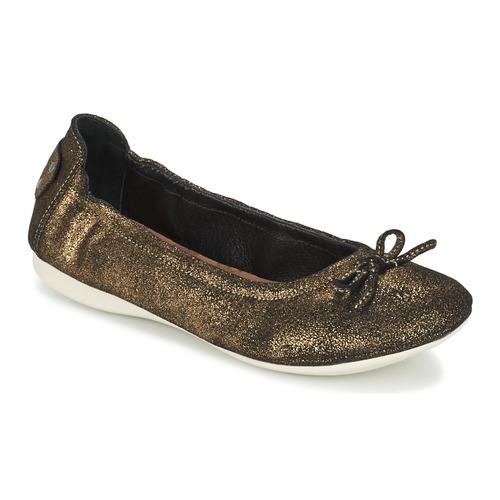 Zapatos cómodos y versátiles PLDM by Palladium MOMBASA Oro / Negro - Envío gratis Nueva promoción - Zapatos Bailarinas Mujer
