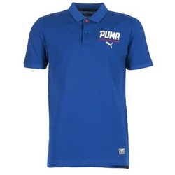 textil Hombre polos manga corta Puma STYLE TEC POLO Azul