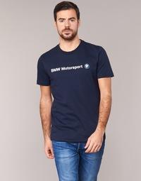 textil Hombre camisetas manga corta Puma BMW MSP LOGO TEE Marino