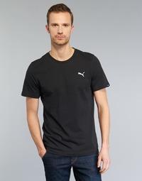 textil Hombre camisetas manga corta Puma ESS TEE Negro