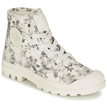 Zapatos Mujer Botas de caña baja Palladium US PAMPA HI F Crudo