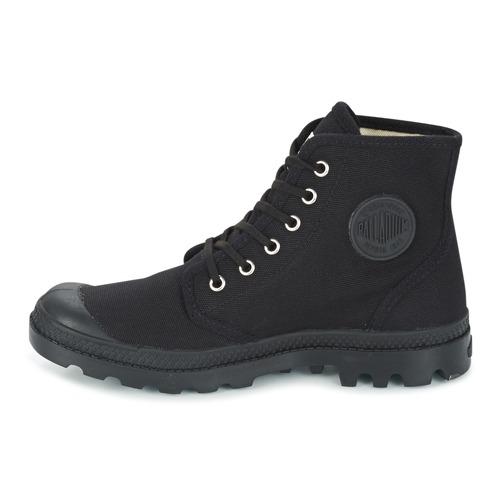 De Hi Orig Baja U Botas Caña Pampa Zapatos Palladium Negro uKclFJT13