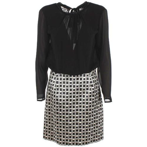 textil Mujer Vestidos cortos Kocca Vestido ISONTAR Negro