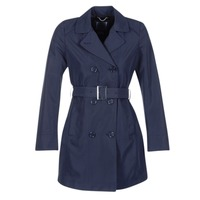 textil Mujer trench Geox CREM Marino