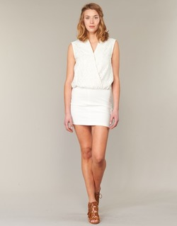 textil Mujer vestidos cortos Le Temps des Cerises SHERY Blanco