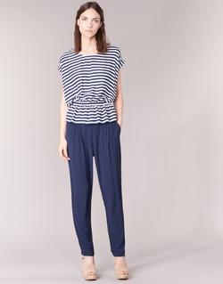 textil Mujer Pantalones fluidos Molly Bracken FODES Marino