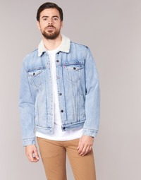 textil Hombre chaquetas denim Levi's TYPE 3 SHERPA TRUCKER Cusack / Trucker