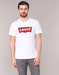 textil Hombre camisetas manga corta Levi's GRAPHIC SET-IN Blanco