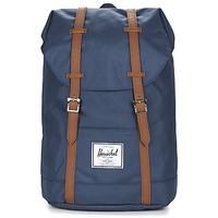 Bolsos Mochila Herschel RETREAT Marino / Marrón