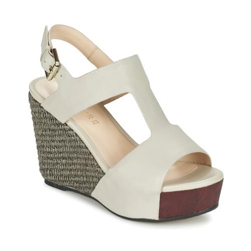 Zapatos de mujer baratos zapatos de mujer Zapatos especiales Café Noir CHANVIO Beige
