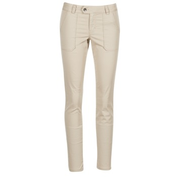 textil Mujer pantalones chinos Les P'tites Bombes CHANTU Beige