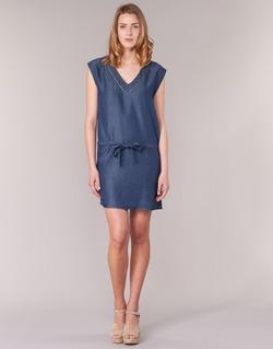 textil Mujer vestidos cortos Les P'tites Bombes GUELOFI Azul