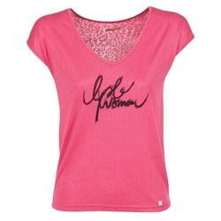 textil Mujer camisetas manga corta LPB Shoes CHOUBERNE Rosa
