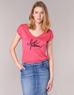 textil Mujer camisetas manga corta Les P'tites Bombes CHOUBERNE Rosa