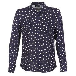 textil Mujer camisas Kookaï HOLIAVE Marino / Blanco