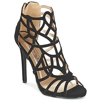 Zapatos Mujer Sandalias Spot on LAFOUILLE Negro