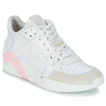 Zapatos Mujer Zapatillas altas Serafini CHICAGO Blanco / Rosa