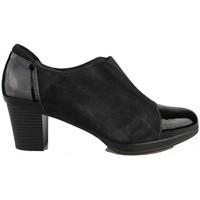 Zapatos Mujer Botines Kroc BOTIN CHAROL NUBUCK NEGRO