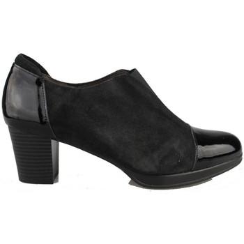 Zapatos Mujer Botines Kroc CHAROL NUBUCK NEGRO