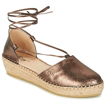 Zapatos Mujer Sandalias Betty London GIORDA Bronce