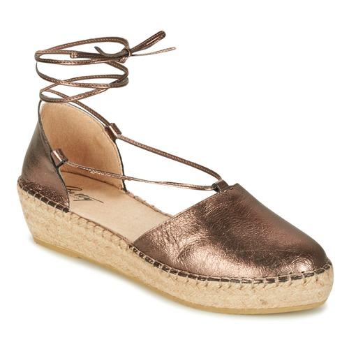 Zapatos Mujer Sandalias Betty London GIORDA Bronce